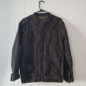Ring of Fire Men's Jacket with patches